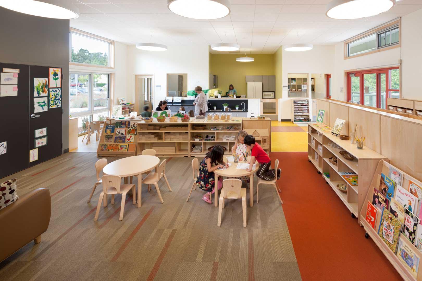 College Of Marin Child Study Center Studio Bondy Architecture