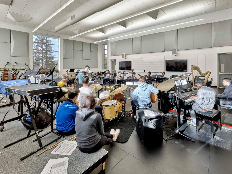 Harker School Performing Arts Center Studio Bondy